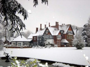 Snowfall at The Grange